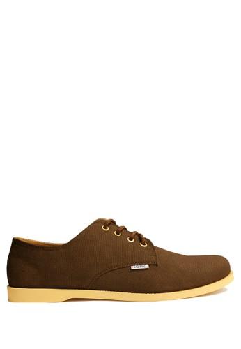 Kenz brown Kenz Boca - Cokelat KE298SH11AMAID_1