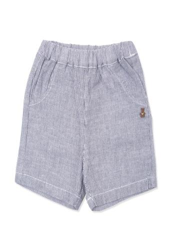 Organic mom grey Organic Cotton  Mike Shorts D348DKADB63092GS_1