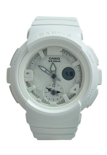 Casio white Casio BABY-G Jam Tangan Wanita - White - Resin - BGA-190BC-7BDR CA347AC42DXDID_1