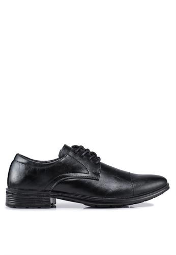 Bata black Lace Up Dress Shoes 5EA39SH935141AGS_1