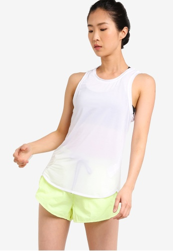 Cotton On Body white Active Scoop Hem Tank Top 066FFAABAA487FGS_1