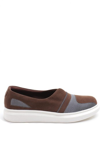 Dr. Kevin Women Flat Shoes Slip On 43168 - Brown