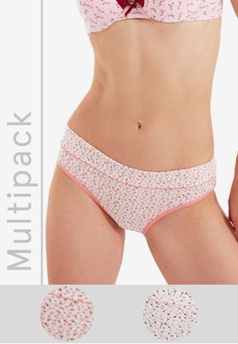 Trendyol multi 2-Pack Somon Panties C91D7US9374DA6GS_1
