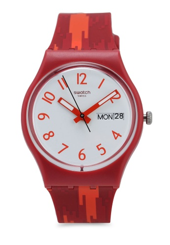 Swatch red Red Flame B9FC7AC580528FGS_1
