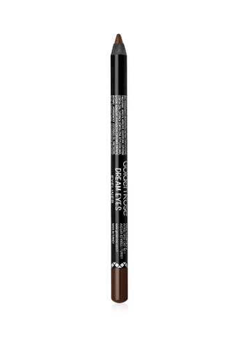 GOLDEN ROSE brown Dream Eyes Eyeliner - 407 GO743BE87DWEMY_1