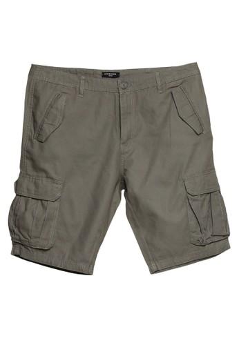 LC Waikiki green Standard Fit Gabardine Shorts BE631AA8D2F1D5GS_1