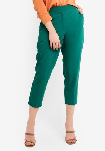 TOPSHOP 綠色 質感長褲 16EF3AAECB7F6AGS_1