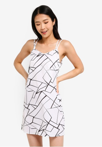 ZALORA BASICS multi Basic Double Straps Cami Dress 1B1DFAAE8D52A9GS_1