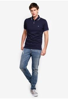 fcdb76c33a9 Jack Wills Hamby Tipped Stretch Polo Shirt S$ 78.90. Sizes XS S M L XL