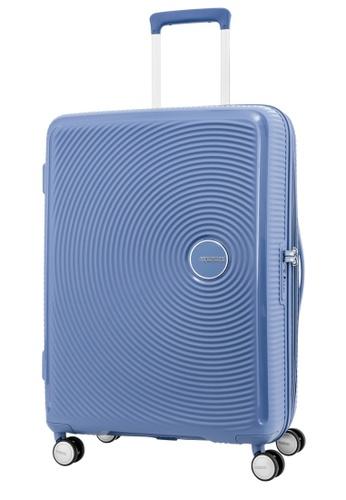American Tourister blue American Tourister Curio Spinner 69/25 EXP TSA 701C7AC76FFD8DGS_1