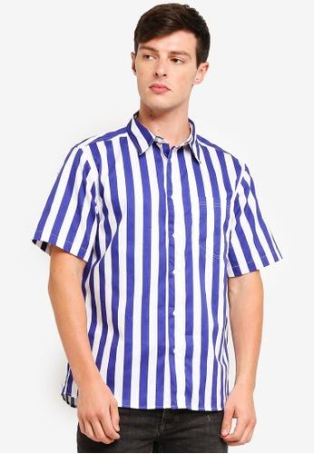 Factorie 多色 Short Sleeve Oversized Shirt 3FAF7AA1C74922GS_1
