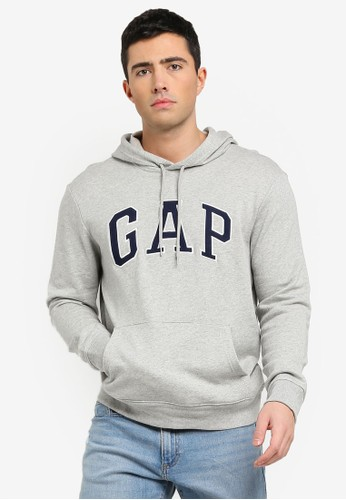GAP grey Gap Arch Hoodie 92411AAF870E74GS_1