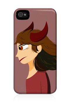 Zodiac Taurus Glossy Hard Case for iPhone 4, 4s