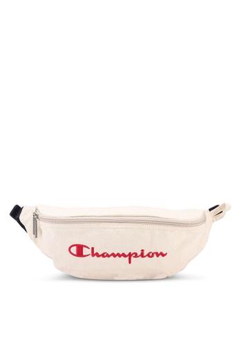 champion white Japan Range Zip-Top Horizontal Waist Bag D08B0AC279650DGS_1