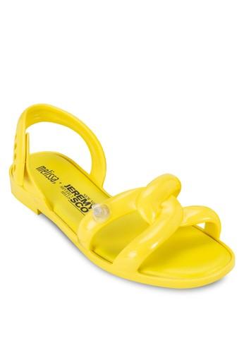 Jeremy Scott Ad 充氣管多帶涼鞋, 女鞋,esprit台灣網頁 鞋