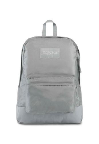 Jansport Mono Superbreak Backpack Sleet - 25L