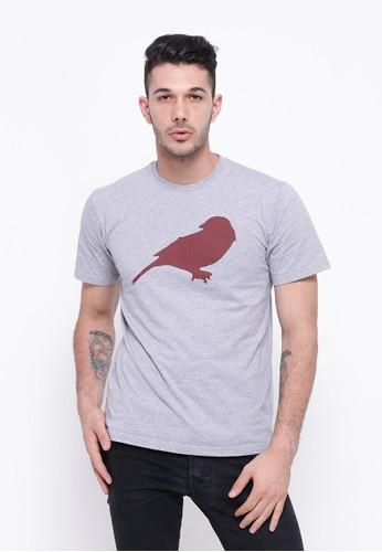 The Original Finch grey Bird Tee 03654AAD1B8F40GS_1