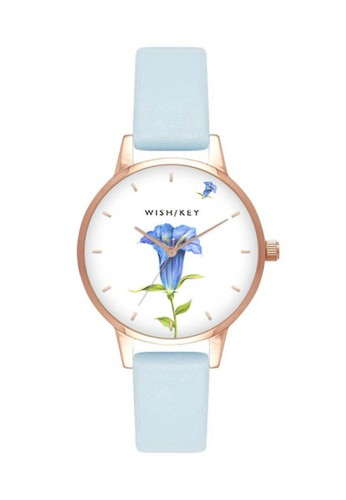 Wish/Key blue Jam Tangan Wanita Wish/Key Rachel WK4011RG/05 8780DAC9545543GS_1