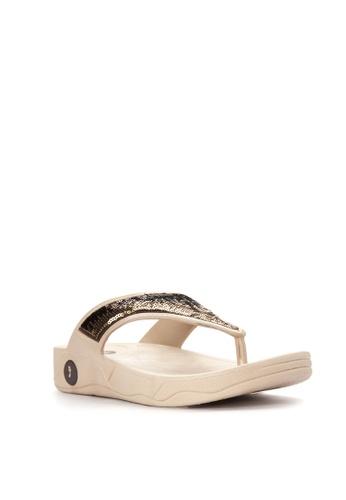 Reva beige Riya Sandals RE354SH79UUIPH_1