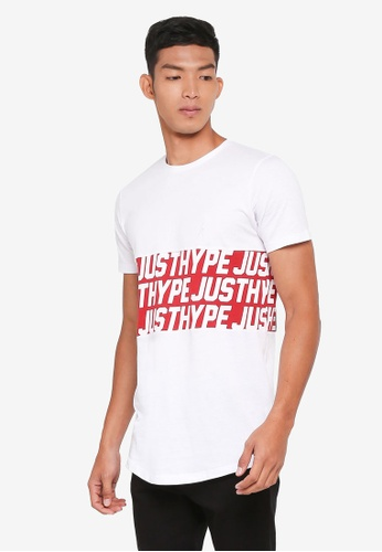d814284d42cf Buy Just Hype Sporting Panel T-Shirt Online on ZALORA Singapore