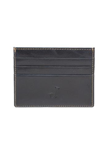Jack Studio blue Jack Studio Leather Slim Card Case A21ACAC1428F67GS_1
