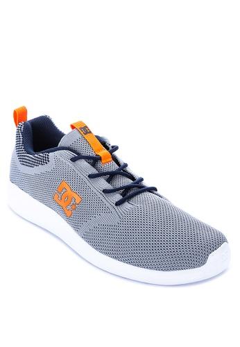 DC grey Midway Knit Sneaker 14937SHC79E80DGS_1
