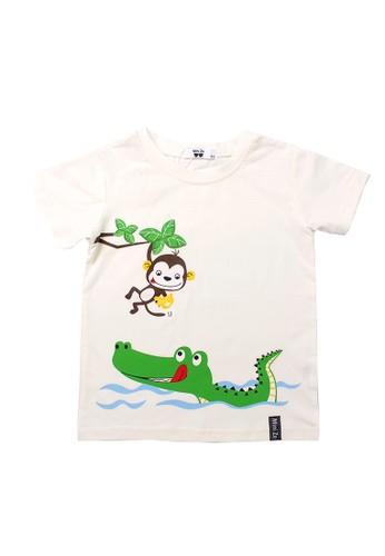 Mini Zo white Donald Baby Boy Shirts White C9864KA6C302D7GS_1