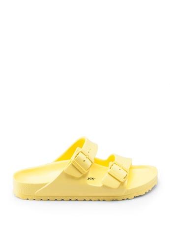 Birkenstock yellow Arizona EVA Sandals AF44ASH10970A0GS_1