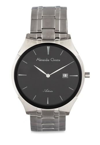 Alexandre Christie silver Alexandre Christie Jam Tangan Wanita - Silver Black - Stainless Steel - 8536 LDBSSBA 9717FACCD23668GS_1