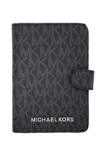 MICHAEL KORS black Michael Kors Passport Cases - 35F8STVT1B Black 1C7B5ACD689B44GS_1