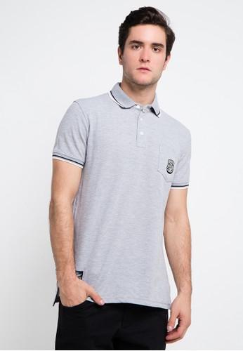 SHARKS grey Polo Shirt SH473AA0VMGRID_1