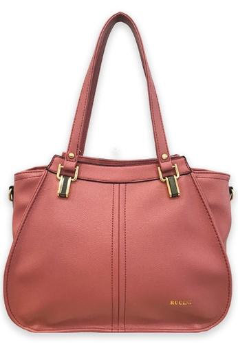 RUCINI pink Rucini Trapeze Tote Bag Pink AC852ACF2E51FBGS_1
