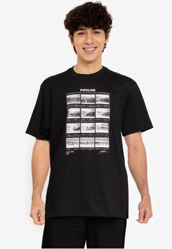 GAP black Surf Graphic T-Shirt AEB63AA7EE2B90GS_1