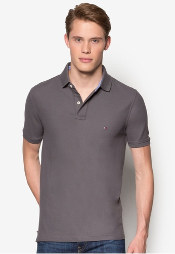 Tommy Hilfiger grey 50/2 PERFORMANCE POLO S/S SF TO861AA45GQSMY_1