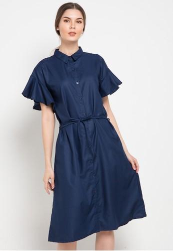 Noche navy Catalina Shirt Dress 34BD8AA6A42C5CGS_1
