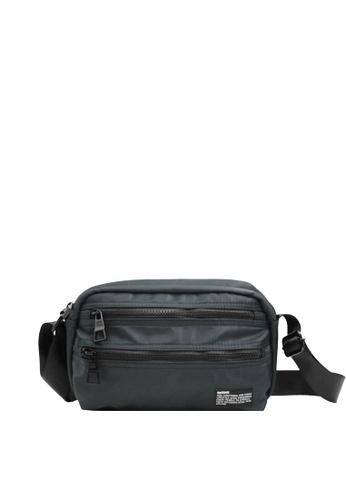 OPTIONS grey Lot Messenger Bag C8983ACAF3381EGS_1