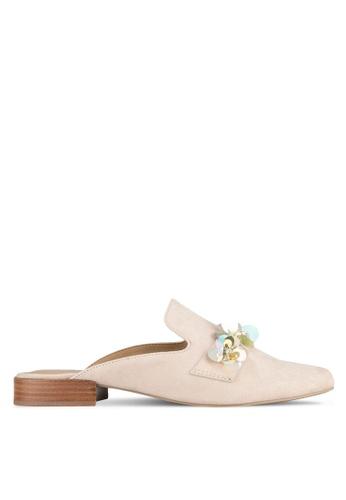 Call It Spring beige Kedacia Loafers CA512SH0SFCWMY_1