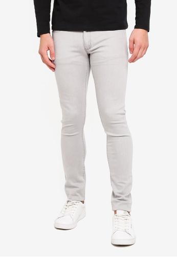 Electro Denim Lab 灰色 Indie-Skinny Jeans ADCDBAAA467C42GS_1
