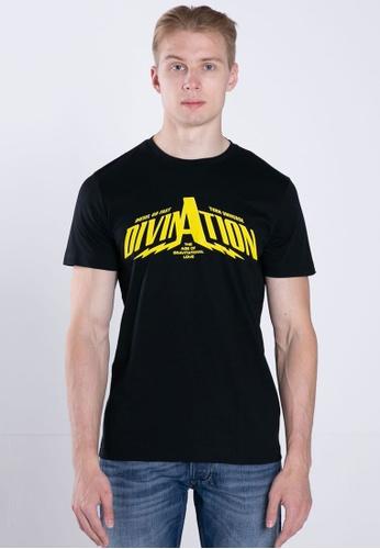 Diesel black T-DIEGO-B16 MAGLIETTA T-Shirt 0AB29AA4627B17GS_1