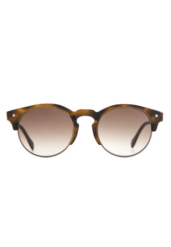 Marshall Eyewear brown Henry Matte Olive Turtle MA266AC82OVXSG_1