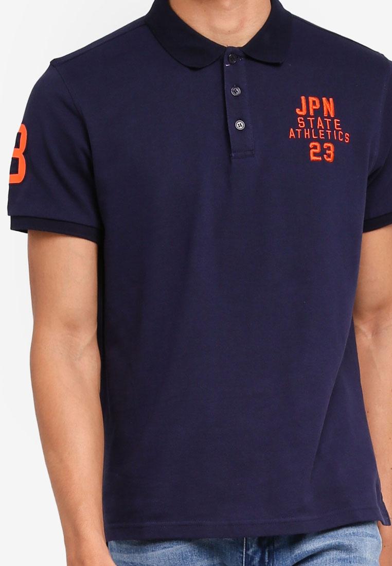 Navy Giselle Marc Polo amp; Fashion Shirt B1HwX
