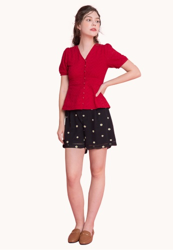 L'zzie red LZZIE CHAVA TOP - RED 2FD36AAE27243FGS_1
