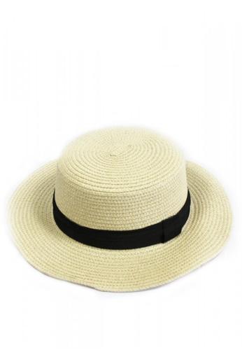 Shop HEY SWEETY Straw Fedora Hat Online on ZALORA Philippines 3183deb890c