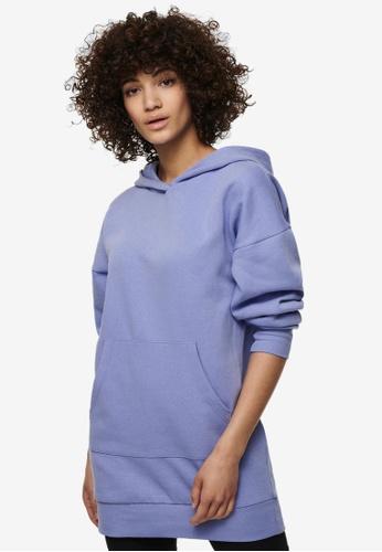 JACQUELINE DE YONG blue Cathrin Life Sweat Dress 22979AA50B7CFEGS_1