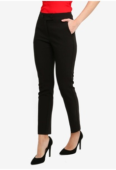 FORCAST black Coraline Slim Pants 94109AA6F5164CGS 1 819ddf511