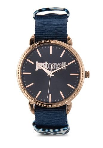 R7251528502 Just All-Night 布料圓錶, 錶類, 飾品esprit 中文配件