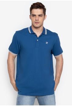 REGATTA blue Polo Shirt with Contrast Trim C2D48AA7BBBB1EGS_1