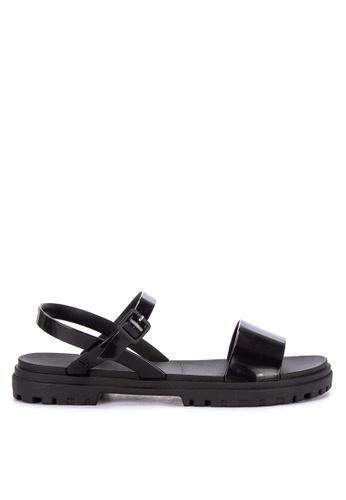 0dcb60fbd Shop Zaxy Zoom Sand Plat Fem Ankle Strap Sandals Online on ZALORA ...