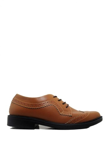 D-Island brown D-Island Shoes Office Winktip Eagle Soft Brown DI594SH01TVQID_1