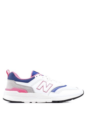 New Balance white and multi 997H Lifestyle Shoes CE799SH218F5A0GS_1